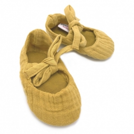 Chaussons ballerines double...