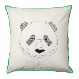 Mimi'Lou - Coussin brodé Panda