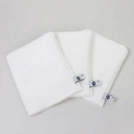 Petits gants de toilette (x3)
