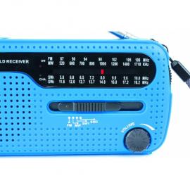 Radio lampe dynamo à pile -...