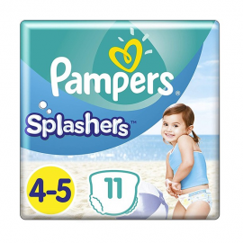 Couches de bain Pampers...
