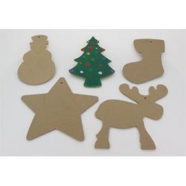 Décorations de Noël à décorer