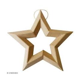 Étoiles à suspendre en...