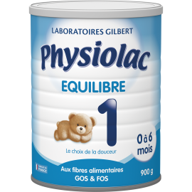 Physiolac Equilibre 1 - 900 g