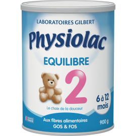 Physiolac Equilibre 2 - 900 g