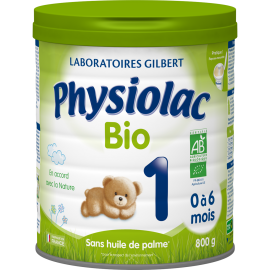 Physiolac Bio 1 - lot de 6...