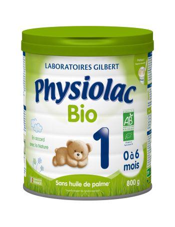 Physiolac Bio 1 - lot de 6...