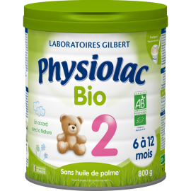 Physiolac Bio 2 - lot de 6...