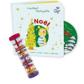 Lot Noel livre CD + Bâton...