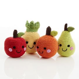 FRUITS EN CROCHET