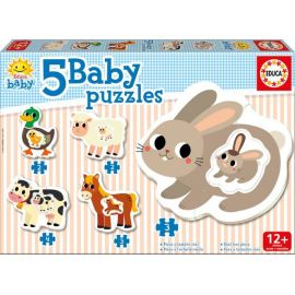 Baby Puzzle La Ferme - Educa