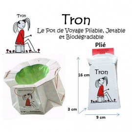 TRON - Pot jetable et...