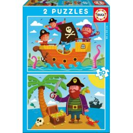 Puzzles Pirates - Educa