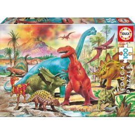 Puzzle Dinosaures - Educa
