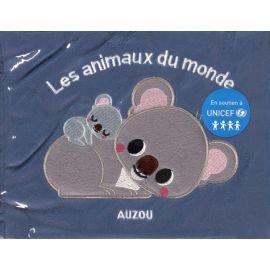Les animaux du monde en tissu