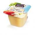 Charles & Alice - Pommes Fruits 100% France - Sans sucres ajoutés 120 coupelles de 100g