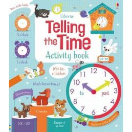 Telling the time activity book