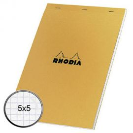 Rhodia Bloc-notes agrafé -...