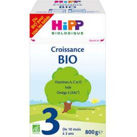 Lait HIPP 3 croissance BIO...