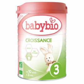 Lait bio Babybio Croissance...