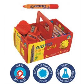 Giotto- Crayons de couleur...