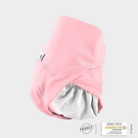 Couche lavable couleur rose...
