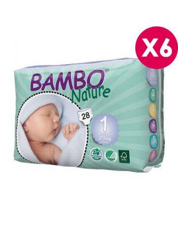 Couches Bambo Nature New...