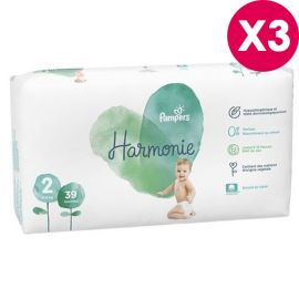 Couches Harmonie Pampers...