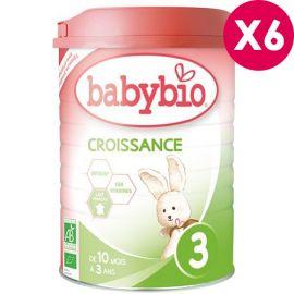 Lait bio Babybio Croissance