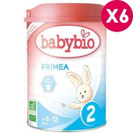 Lait bébé bio Babybio Primea 2