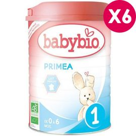 Lait bébé bio Babybio Primea 1