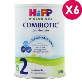 Lait HIPP 2 combiotic de...