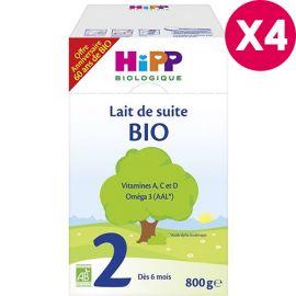 Lait Bio HIPP 2 de suite...
