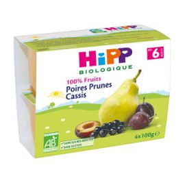 100% Fruits Poires Prunes...