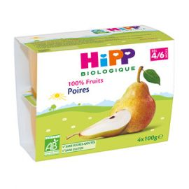 100% Fruits Poires - 6...