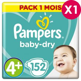 Couches Pampers Babydry...