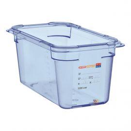Boîte hermétique bleue en...