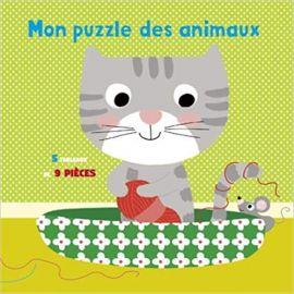 Mon Puzzle Des Animaux -...