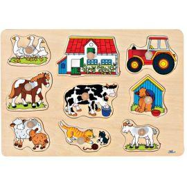 Puzzle à la ferme - Ogeo