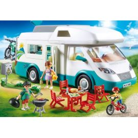Famille et camping-car -...