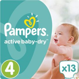 Pampers couches active baby...