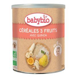 Céréales 3 Fruits avec...