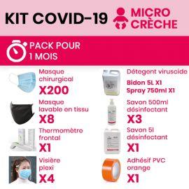 Kit COVID 19 micro-crèche -...