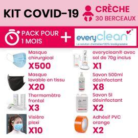 Kit COVID 19 crèche (30...
