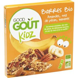 Good Goût -  Barres amandes...