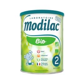 Modilac Bio 2 - boite de 800g