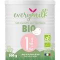 Lait infantile Bio everymilk 1 de 0 à 6 mois - 1 boîte