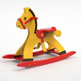 Cheval à bascule - 3 coloris