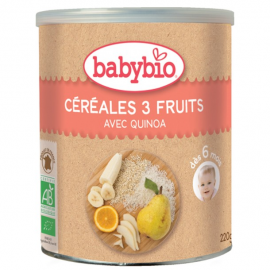 Babybio - Céréales 3 fruits...