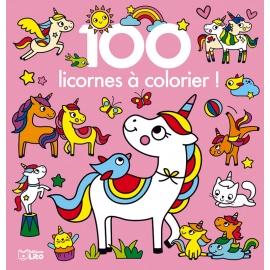 100 licornes à colorier ! -...